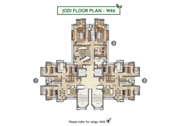 Jodi Floor Plan - W46